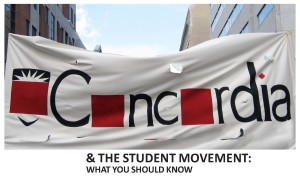 Concordia and the student movement - front-single